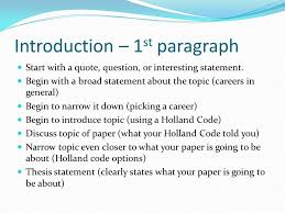 writing an essay career fair paper ppt video online 2 introduction 1st paragraph