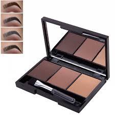 <b>3 Colors Eyebrow Powder</b> Palette Waterproof Shade For Eyebrows ...