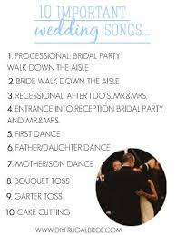 Wedding Ceremony Music Order Plan Out Your Wedding Ceremony And