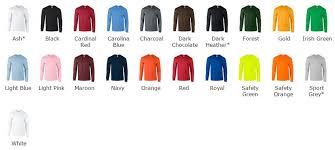 Cheap Gildan Ultra Long Sleeve Cotton Tshirt 21 Colours Gd014
