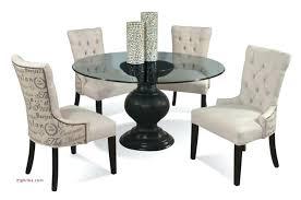 glass dining table base 6 elegant pedestal round wood uk