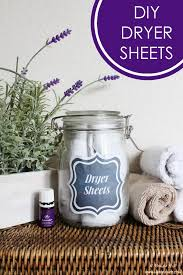 diy dryer sheets free printables