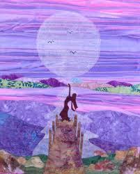 5 Landscape Quilt Patterns to Inspire Scenic Stitching & moon landscape quilt Adamdwight.com
