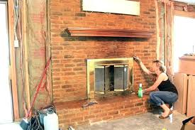 cleaning soot from fireplace cleaning soot from