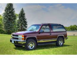 Tahoe chevy 2 door tahoe : 1992 Chevrolet Tahoe for Sale | ClassicCars.com | CC-999448