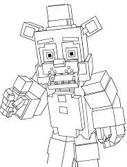Minecraft Coloring Pages Coloringpagesonlycom