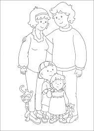 Caillou Coloring Page Gregory Color