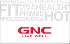 Turn GNC Gift Cards into Cash   QuickcashMI