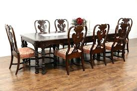 antique dining sets dining room antique dining room chairs unique sold carved walnut burl antique dining