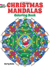 Small Picture Christmas Mandalas Coloring Book Dover Design Coloring Books
