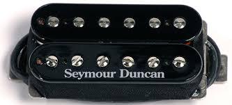 seymour duncan sh 5 duncan custom humbucker pickup black seymour duncan sh 5 duncan custom humbucker pickup black image 1