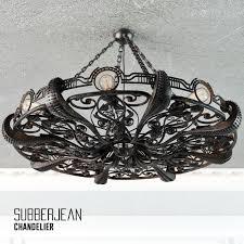 chandelier octapus subberjean 3d model max fbx 1