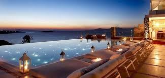 infinity pools. Bill \u0026 Cool Suites Lounge, Mykonos Infinity Pools