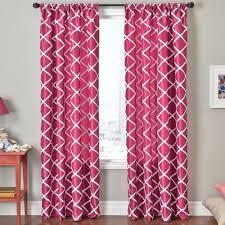 Trellis Rod-Pocket Curtain Panel