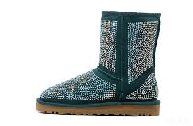 UGG Classic Short Diamond Boots 1005825 Green