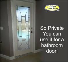 exterior doors with glass glass door insert for a bathroom exterior door full glass exterior