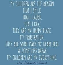 Quotes About Your Children Interesting I Love My Children Quotes QUOTES OF THE DAY