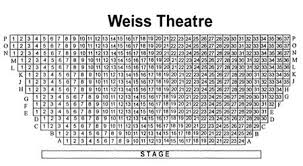 Mandell Weiss Theatre Seating Chart Theatre In San Diego