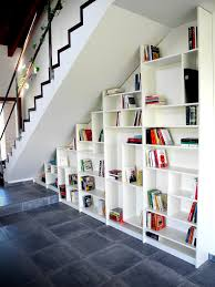 Marvelous Building Shelves Under Stairs Photo Ideas