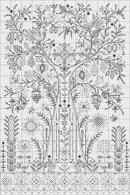 Blackwork Cross Stitch Charts