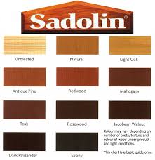 Sadolin Classic Colour Chart Colour Chart For Sadolin Wood Stain Bedowntowndaytona Com