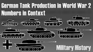 german tank production in world war military history