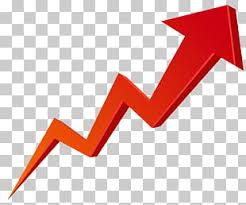 Stock Chart Up Website Stock Market Graph Up Transparent Red Zig Zag