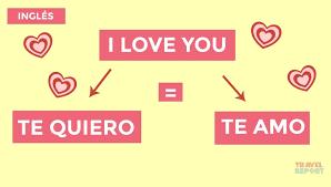 o se dice te amo en varios idiomas ingles i love you
