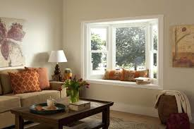 Bay window furniture living Incredible Bay Windows Furniture Bay Window With Seating In Warm Living Room Bay Window Ideas Chairs Ecospainfo Bay Windows Furniture Bay Window With Seating In Warm Living Room