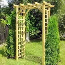 garden arch 28 square trellis