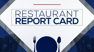 restaurant report card wrcbtv chattanooga news weather sports