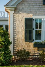 High Quality Cedar Shake Shingle Gives The Home A Lovely Textured Look. U201cThose Will All  Age Naturally To A Wonderful Gray, Weathered Look,u201d Says Linda.  #HGTVDreamHome
