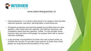 Interviewquestion In Interviewquestion Medium
