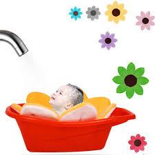 Image result for baby bath flower images