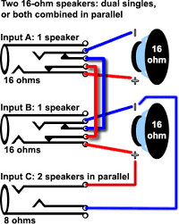 single dual 2 ohm wiring diagram schematics and wiring diagrams dual voice coil wiring image about diagram