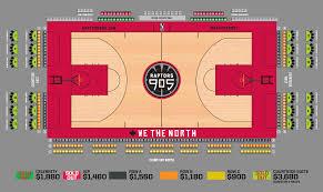 Raptors Tickets Price Chart Premium Seats Raptors 905