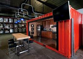 cargo container office. shipping containers transform warehouse into office space cargo container a