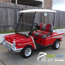 1957 Chevy Club Car DS Golf Cart   Golf Cart Zone of Austin