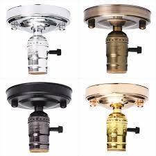 e27 e26 ac110 250v edison retro vintage ceiling light lamp holder socket with switch