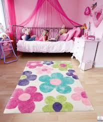 round pink rug area for nursery rugs kids rooms childrens blush bedroom light carpet fluffy