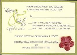 Rsvp Inserts Printed Card Matted Olive Colored Cheap