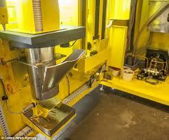 Fresh Chips Vending Machine Adorable Fast Frites Belgian Vending Machine Dispenses CHIPS Daily Mail Online