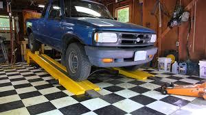 Using the Kwik-Lift Car Ramp - YouTube