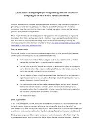 sample settlement offer letter attorney sample settlement letter