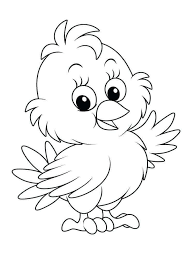 20 Free Easter Chick Coloring Pages Printable