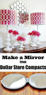 Diy Mirror Projects Best 25 Dollar Store Mirror Ideas On Pinterest Dollar Store