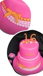 Sweet Sixteen Cake And Cupcakes Marble Nitas Cake Nation