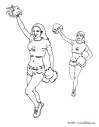 Small Picture Coloring Pages Of Football Players And Cheerleaders Coloring Pages