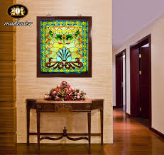 get ations bungalow villa custom doors and windows off screen color art glass wall lamp wall by the