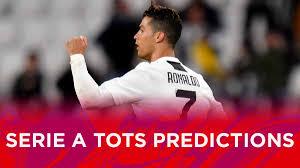 FUT 19 Serie A TOTS Predictions - Futhead News